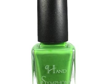 Aurora~ Green Nail Polish,Neon Green Nail Polish,5 Free Nail Polish,Vegan Nail Polish,Neon Nail Polish,Gifts for Her,Summer Nail Polish