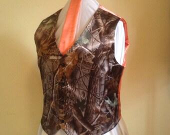 Camo Men's Vest Size 2xL, 3xL, 4xL, 5xL
