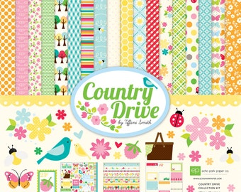 Echo Park Country Drive Collection Kit