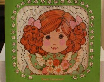 "Vintage Hallmark Stitchin' Time Doll ""Sweet Susannah"""