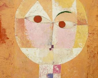 Paul Klee Senecio (Old man), 1922