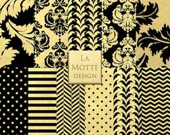 gold foil damask patterns black and gold paper gold patterns damask
