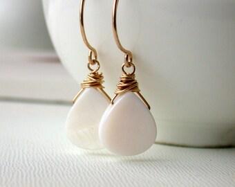 Sale. Mother of Pearl Earrings