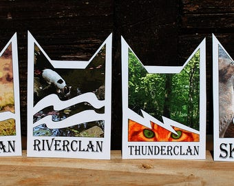 Warriors Cats Clan Stickers