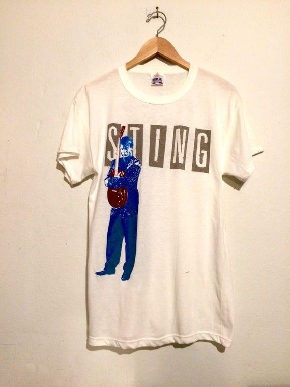 Sting 1985/ 1986 European Tour Tee