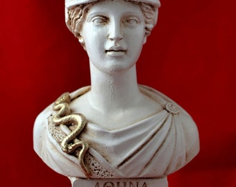 Athena bust greek statue wisdom civilization goddess NEW