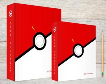 3-Ring Binder | Customized Large Binder | Personalized 3-ring binder |  1.5 inch binder |  Red & White Ball