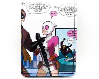 Gwenpool Wallet - Comic Book Wallet