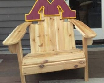 University Of Minnesota Custom Adirondack Chair