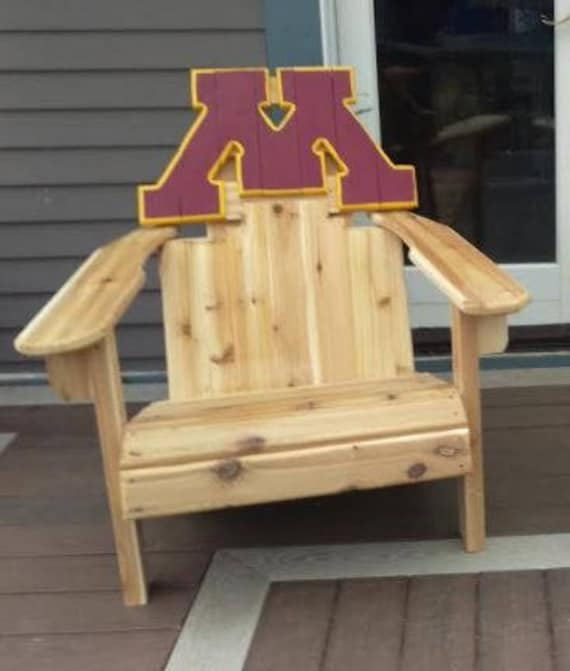 University Of Minnesota Custom Adirondack Chair