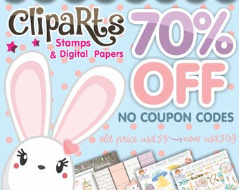 Clipart, Clipart Commercial Use, Please DON'T Purchase this Listing, Clipart Sale, Clipart Watercolor, Coupon Code, Discount Coupon Codes