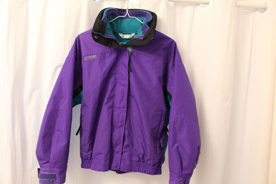 Columbia Ski Jacket Outer Shell Bugaboo Spring Fling Vintage Size Large ctH3HSiyan