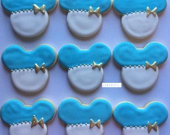 Mickey Mouse Cookies| Baby Shower Cookies| Sugar cookies