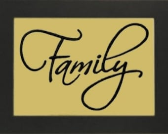 FAMILY - Life Sentiments Embroidery Designs