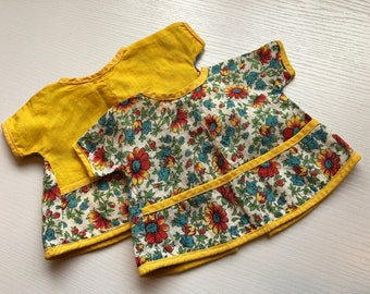 Pair of Vintage Doll Apron/Tops