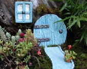 Fairy Door,Fairy Door Set,Fairy Garden Kit,Fairy Door Kit,Fairy Gardens,Outdoor Fairy Gardens,Mothers Day,Gardening Gift,Fantasy Decor,Stone