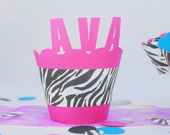 personalized cupcake wrappers