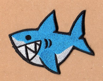 Too Cute Shark Patch