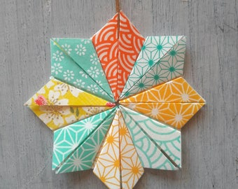 Star hanging - decorative origami Japanese paper