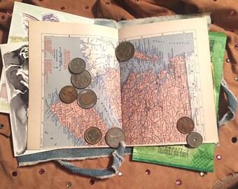 Travel Map Journal / Scrapbook