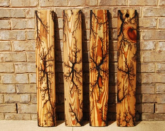 4 Decorative Wood Panels