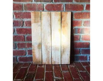 Blank Wood Canvas- DIY, Home Decor