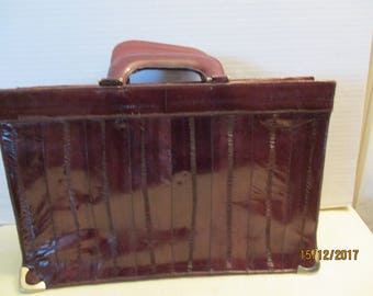 Vintage Eel Skin Briefcase