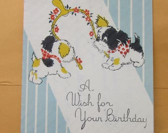 scotty dogs birthday card