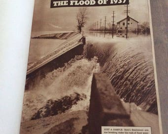 Personal Scrapbook of the 1937 Ohio River Flood/Newspaper Clippings/1937 Flood Photos