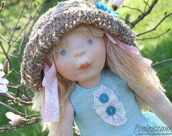 """Eliza (20"""" - 52 cm) rag doll  - blue affectionate friend - Pocieszanka.pl"""