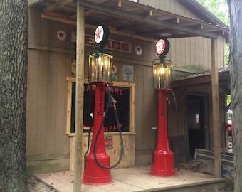 Vintage gas pump   Etsy