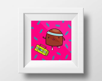 Chocolate Ghetto Blaster
