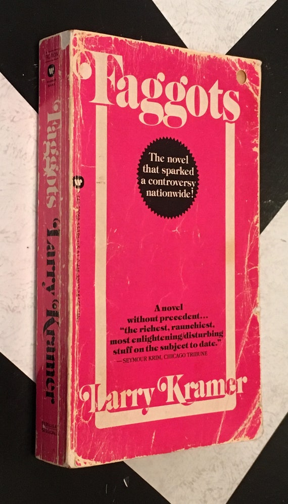 Faggots by Larry Kramer vintage classic queer LGBTQ literature paperback book (Softcover, 1984)