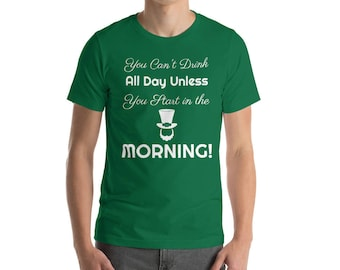 Drinking in the AM St. Patrick's Day T-Shirt