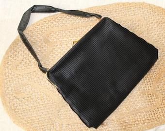 Elegant evening handbag, wrist bag, 60s - vintage