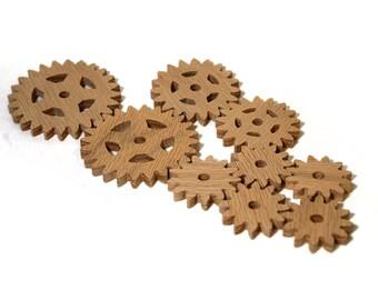 Oak Wooden Gears