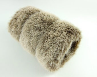 Faux Fox Fur Women's Hand Muff