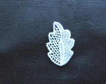 Leaf Applique Venise Lace 6004