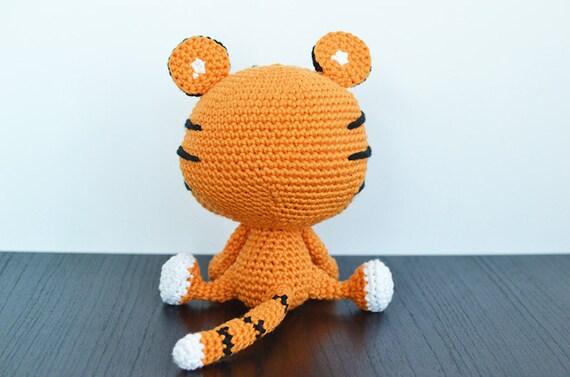 Tiger Crochet Pattern Tito The Tiger Crochet Pattern Tiger