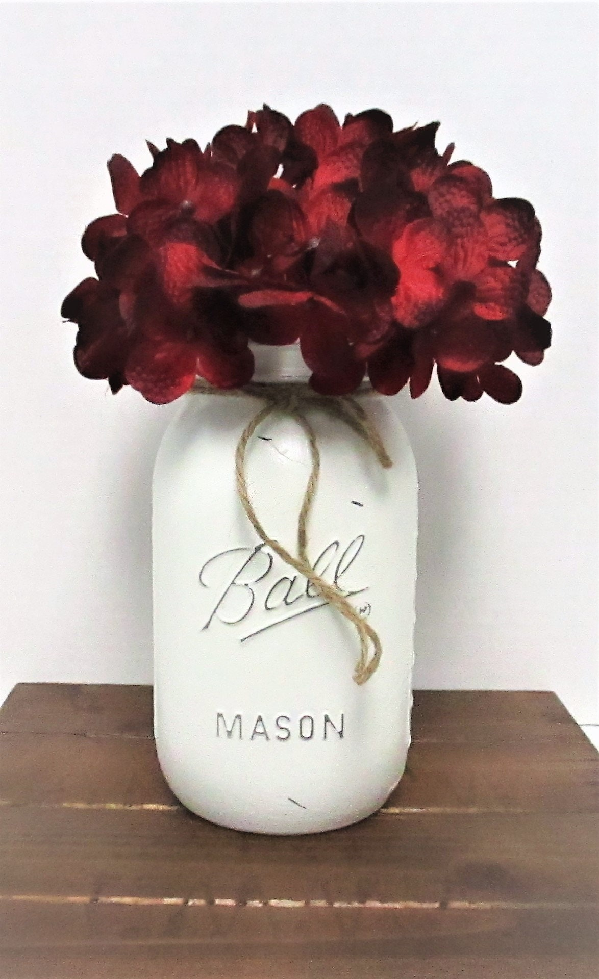 Mason Jar Fall Decor, Fall Centerpiece, Fall Decor, Fall Flowers ...