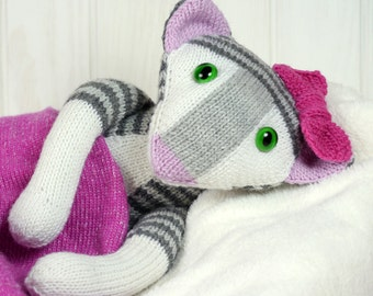 COCO THE CAT knitting pattern