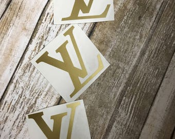 Logo Decal only * Inspired by luxury brand Louis Vuitton