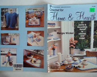 Crochet Booklet Home and Hearth 27 Crochet Projects
