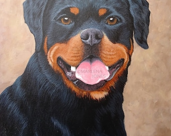 "Custom Pet Portrait 11"" x 14"""