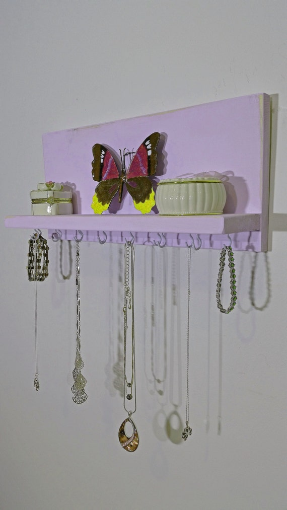 FREE SHIPPING Modern Rustic Necklace Organizer Necklace
