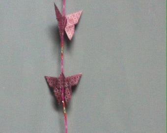 Medley or swarm of butterflies pendant