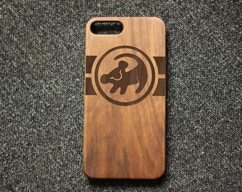 King of lions iphone 6 case,Simba iphone 7 case,wood iphone 7 plus case,wood iphone 6S case, simba iphone 7 case,iphone 5s case