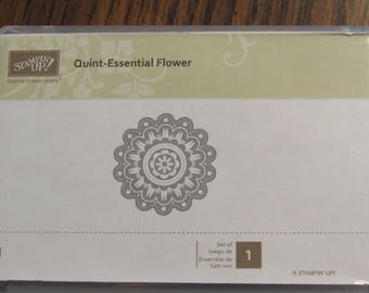 Stampin up Quint Essential Flower
