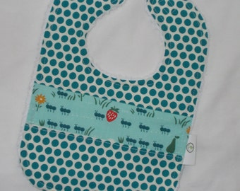 Organic And March and Chenille Bib - SALE