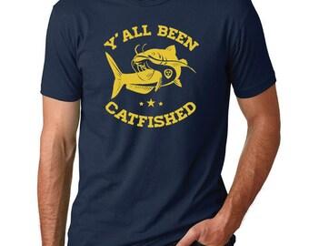 Y'all Been Catfished Shirt // Nashville Hockey Catfish Shirt